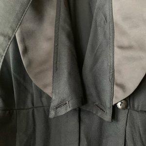 Vintage Pants & Jumpsuits - 80's Black Jumper Size 4/5